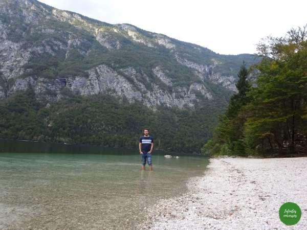 Paseando por el lago Bohinj Increíbles paisajes en Eslovenia: Slap Savica - Vogel - Lago Bohinj