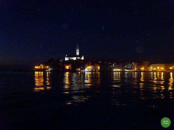 Rovinj de noche