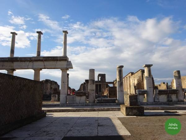 Visita al Parque Arqueológico de Pompeya por libre foro de pompeya