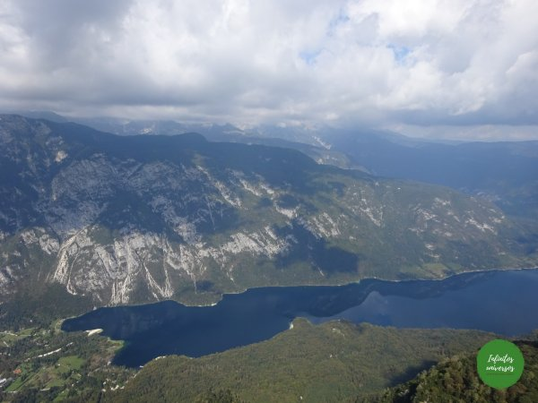 Lago Bohinj desde Vogel