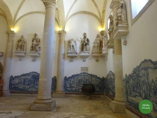 Interior Monasterio deAlcobaça Monasterio de Batalha y Alcobaça