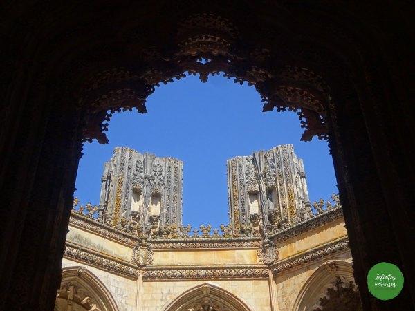 Capillas imperfectas Monasterio de Batalha y Alcobaça