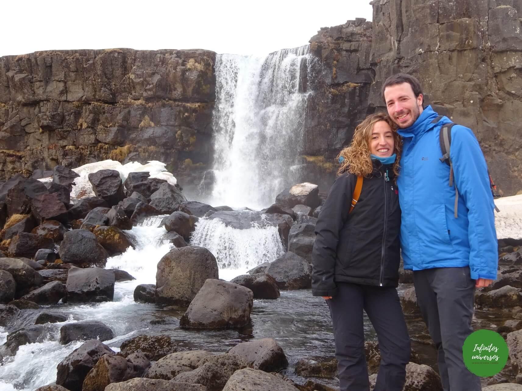 Öxarárfoss que ver en islandia en 4 días
