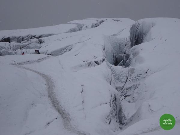 Trekking por el glaciar Svartifoss