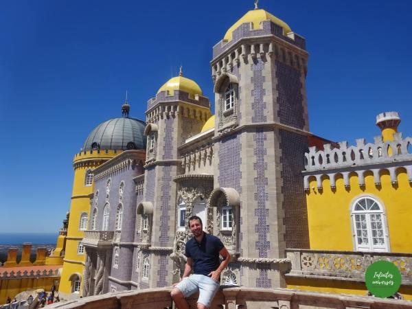 Palacio da Pena Sintra  - Qué ver en Sintra en un día palacio de pena sintra portugal