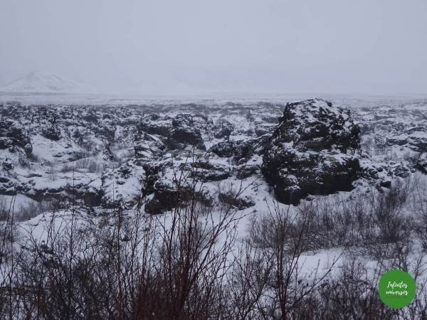 Dimmuborgir  - Qué ver en Myvatn