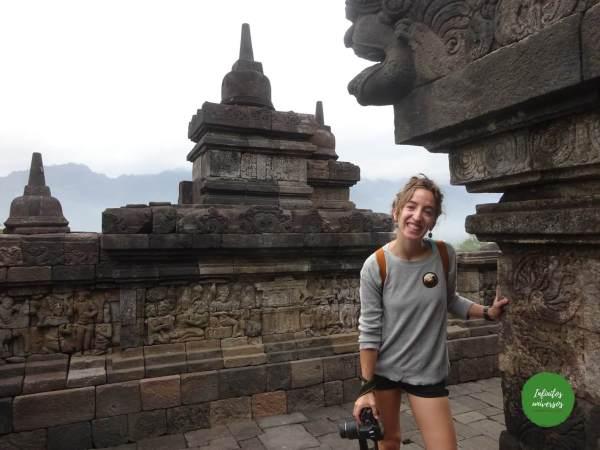 Borobudur Java y Borneo
