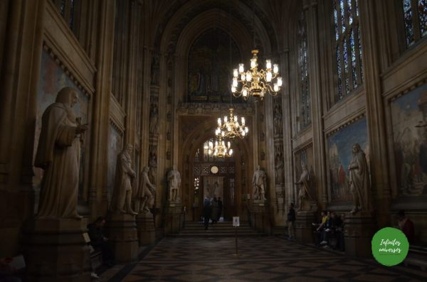 Interior Westminster Palace