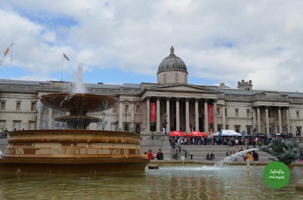 Trafalgar square y National Gallery