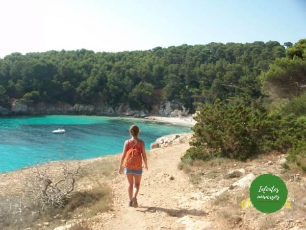 Menorca playas escorxada
