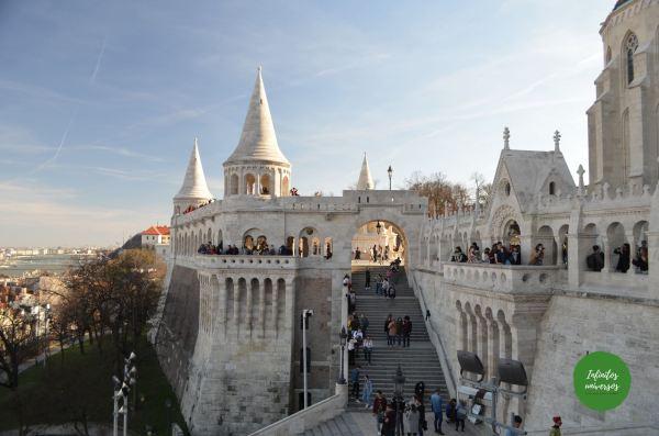Bastión de los Pescadores que ver en Budapest en 3 días