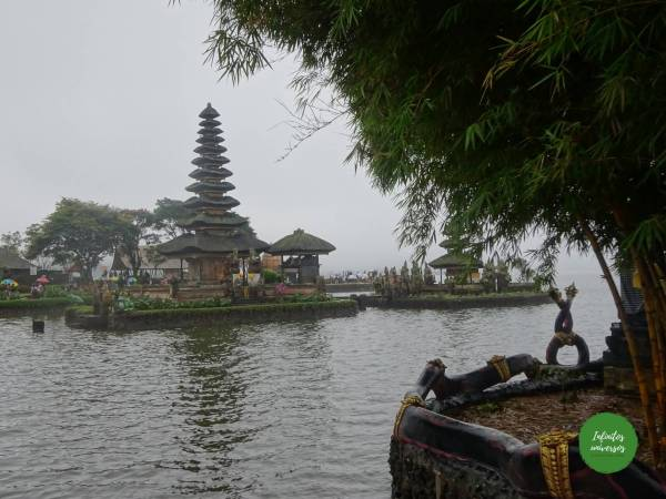 Pura Ulun Danu Bratan - Viaje a Indonesia en 2 semanas