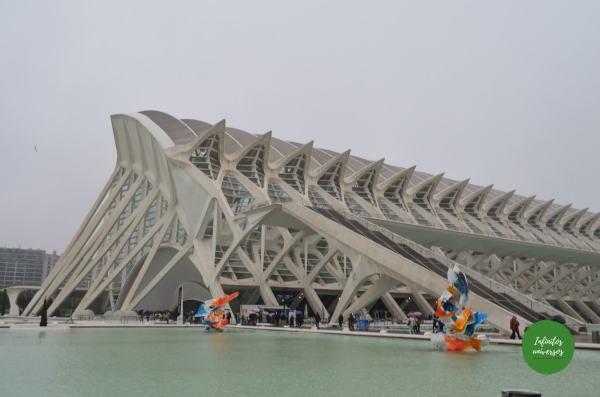 ciudad de las artes y las ciencias que ver en valencia en un fin de semana