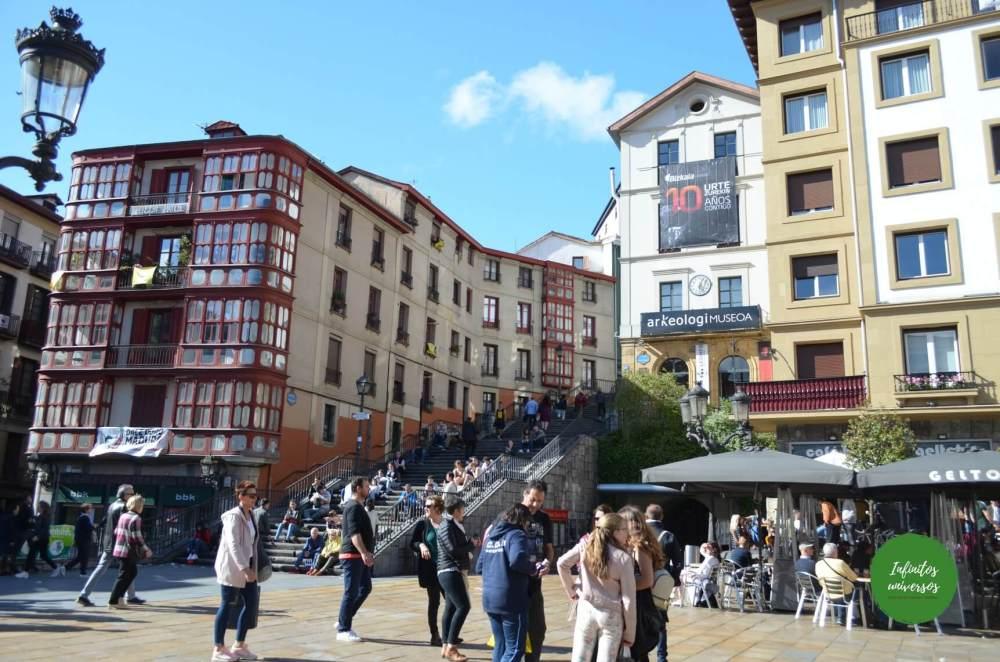 Plaza Miguel Unamuno - Qué ver en Bilbao