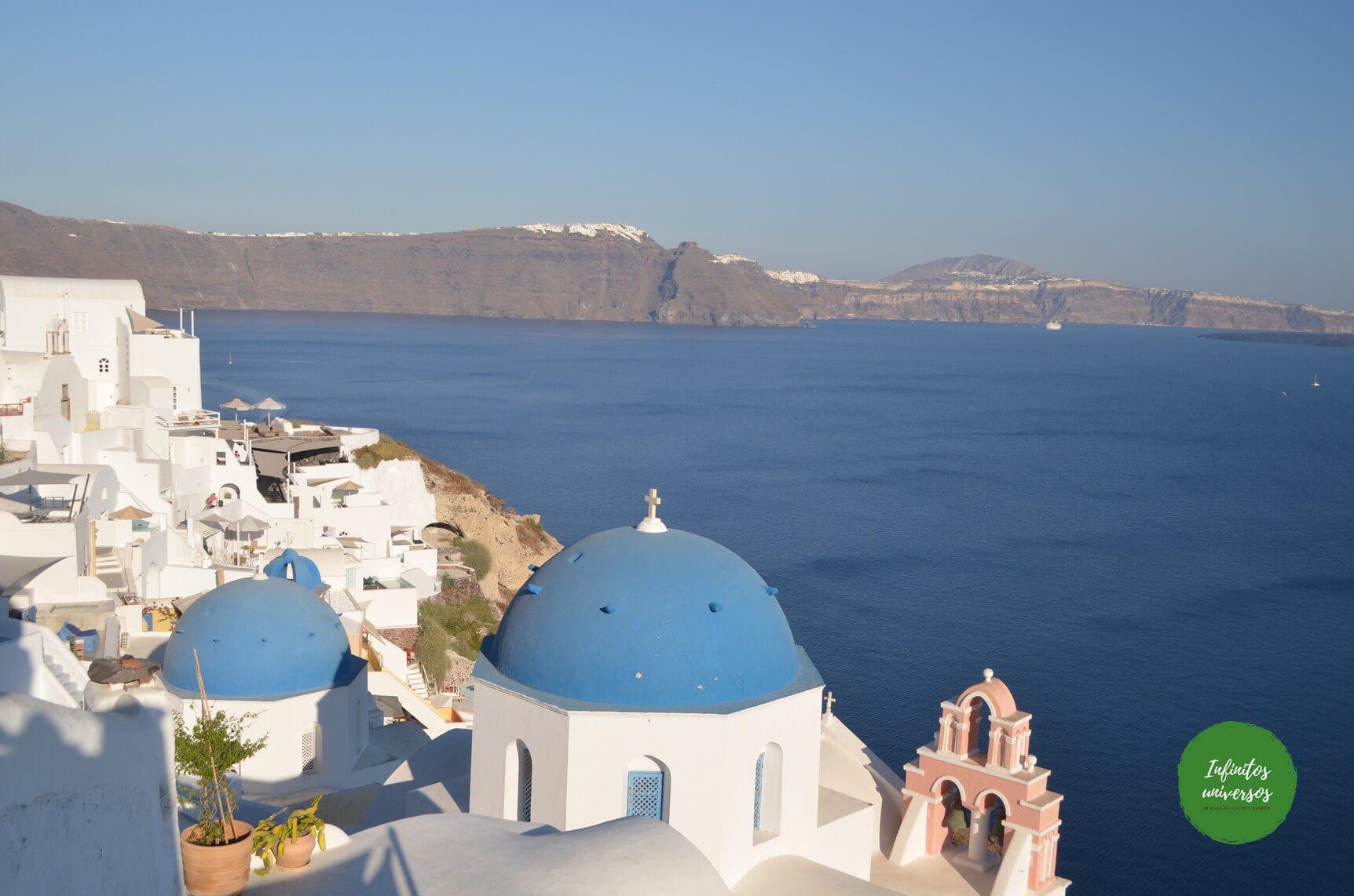 Qué ver en Santorini, europa en verano