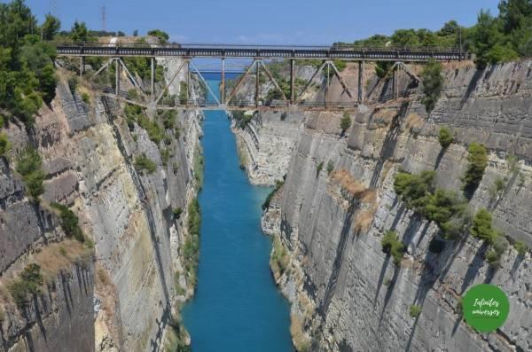 Canal de Corinto  - Qué ver en el Peloponeso