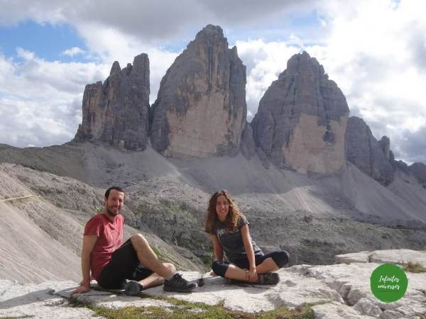 Tres Cimas de Lavaredo Dolomitas Italia - Que ver en los Dolomitas trekking dolomitas