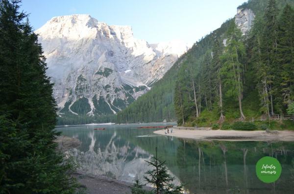 Lago di Braies Dolomitas Italia dolomitas en 10 días