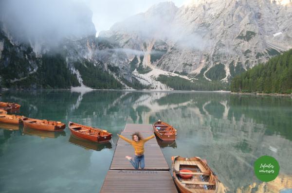 Lago di Braies Dolomitas Italia - Que ver en los Dolomitas trekking dolomitas