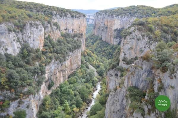 Foz de Arbaiun desde el mirador del Alto de Iso Qué ver en Navarra en 5 días
