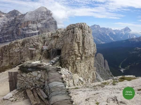 Galeria Lagazuoi Que ver cerca de Cortina d'Ampezzo