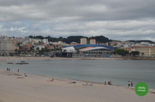 playa de riazor galicia