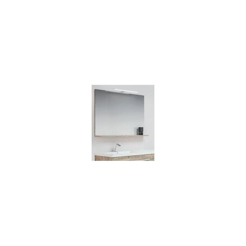 Miroir Avec Tablette Pour Meuble De Salle De Bains 60cm