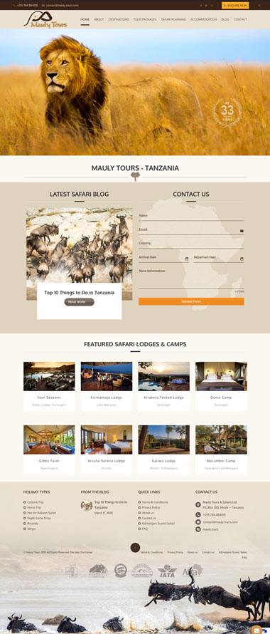 Web design Tanzania SEO
