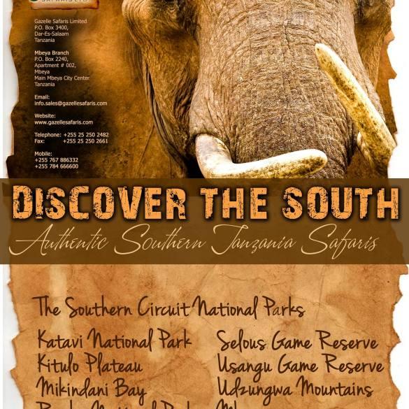 Gazelle Safaris e-brochure