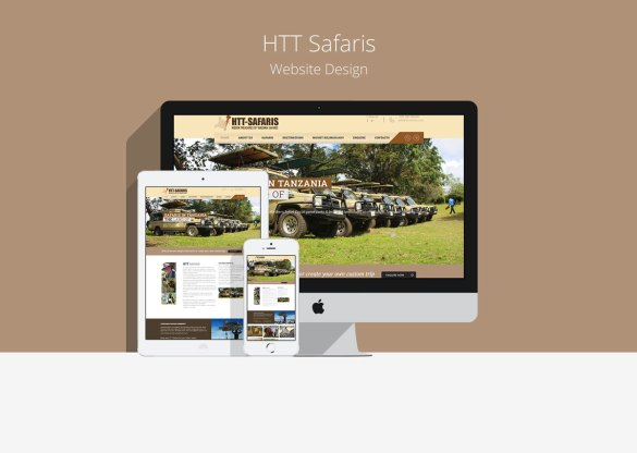 HTT Safaris Website