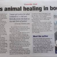 Di explores animal healing in book trilogy Westville Mail July 2017
