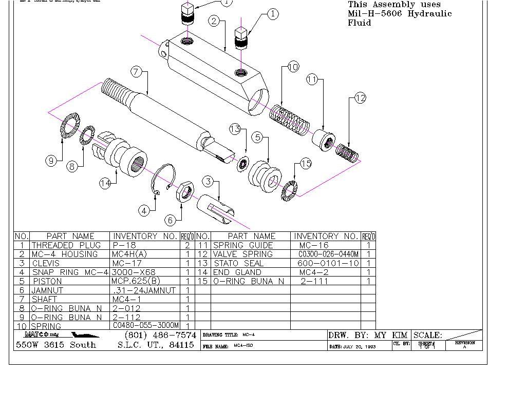 Matco Aircraft Wheels Brakes Axles Amp Parking Brake