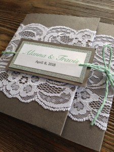 Rustic Elegance Wedding Invitation