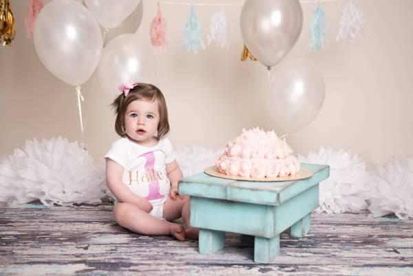 First Birthday Onesie Photoshoot