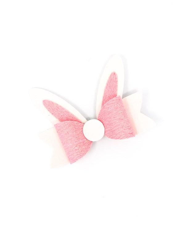 Easter Bunny Bow Hair Clip