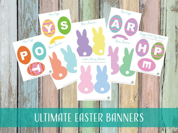 DIY Easter Banners