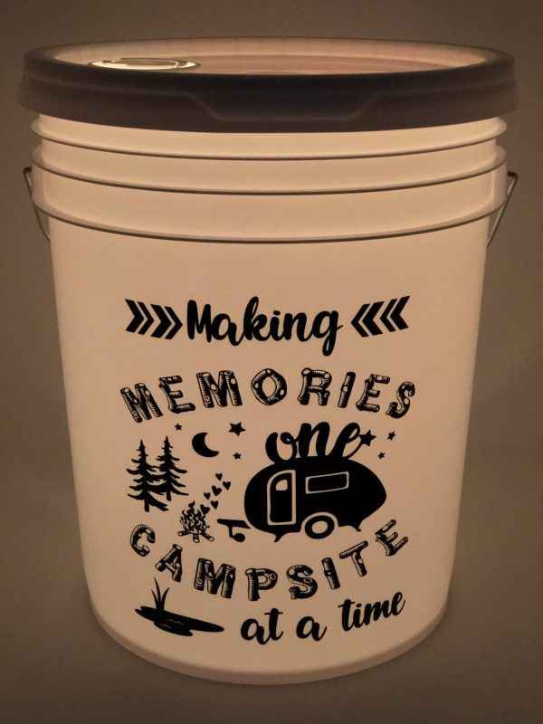 making memories one campsite at a time vinyl decal