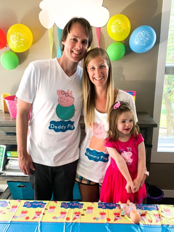 Peppa Pig Family Shirts