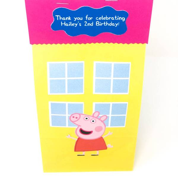 Peppa Pig Favor/Bags