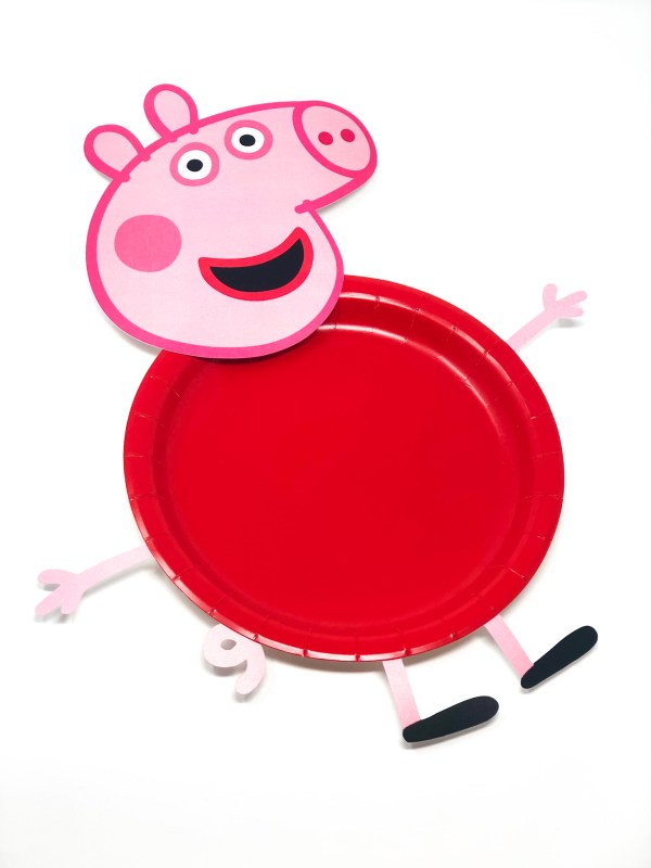 Peppa Pig Cut Outs for Plates, Balloons and More