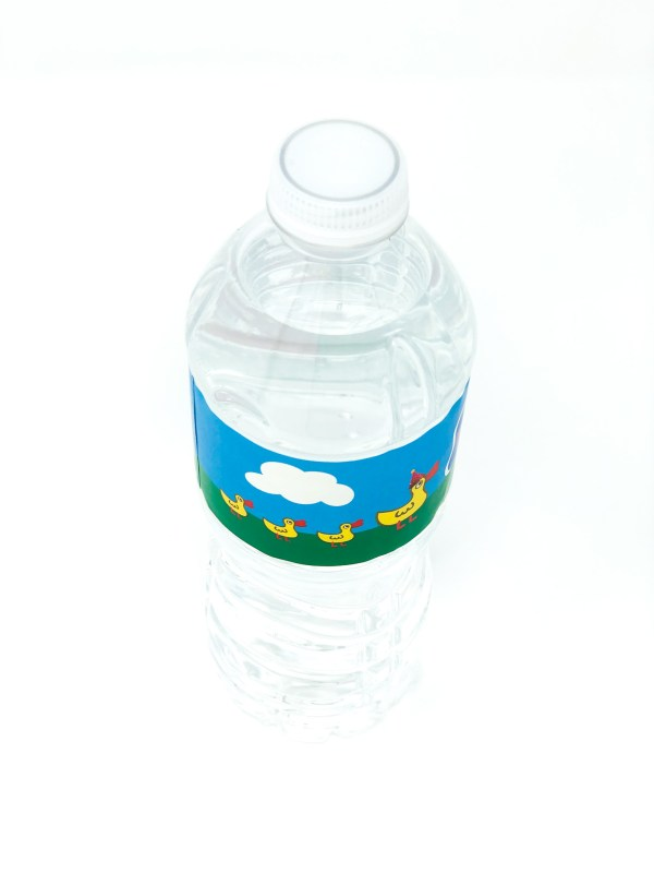Peppa Pig Water Bottle Label