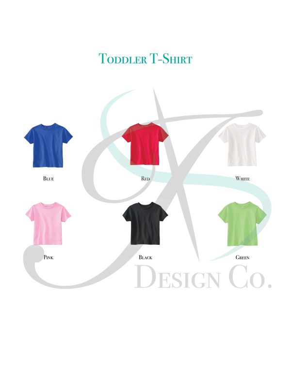 Toddler T-Shirt Color Swatch