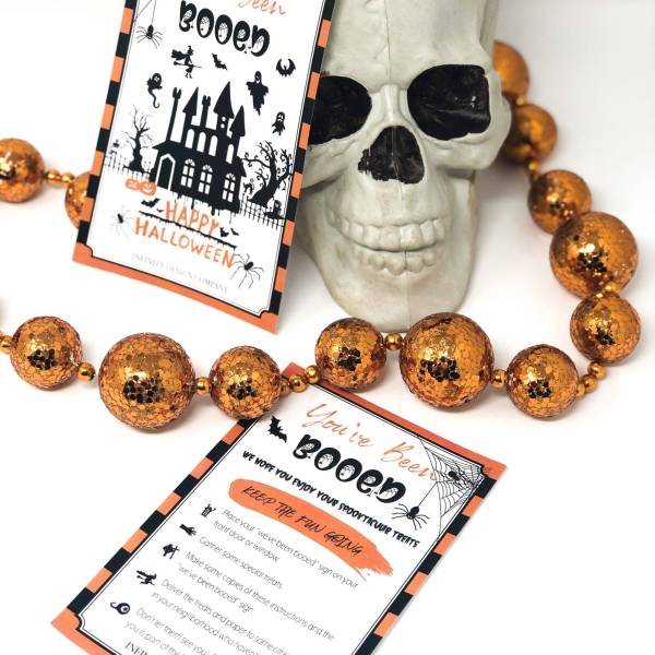 Halloween Activity YOU'VE BEEN BOOED Printable
