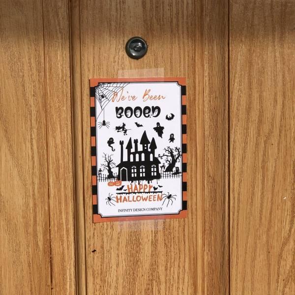 Halloween Activity YOU'VE BEEN BOOED Printable