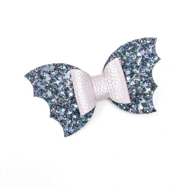 Bat Wings Halloween Bow Hair Clip