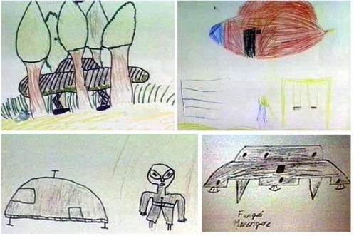 Ariel School UFO incident