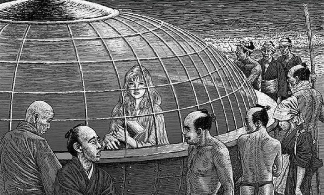 The Extraterrestrial Woman who came to Japan in 1803 (extraterrestrial contact)