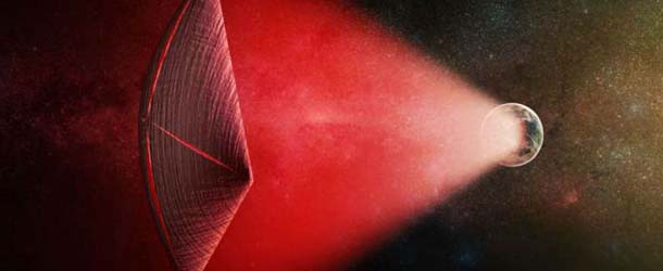 Harvard scientists believe the mysterious cosmic signals are to propel extraterrestrial ships