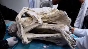 """Three-fingered """"Alien Mummy"""" found in Peru!!"""