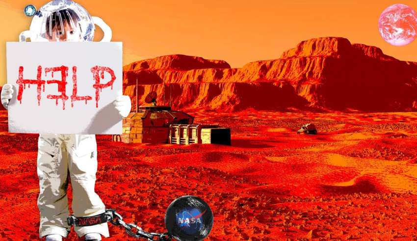 NASA forced to deny colonies of kidnapped children on Mars